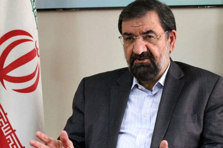 ستاد محسن رضایی می گوید او «تا آخر رقابت ها» در انتخابات می ماند