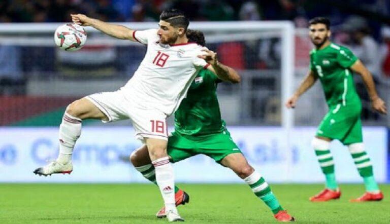 زمان بازی فوتبال ایران و عراق کی است؟
